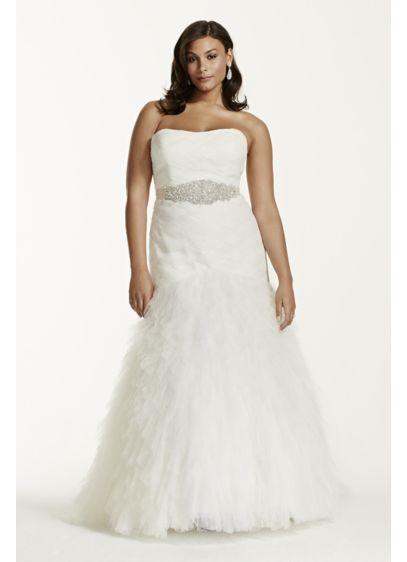 Long Mermaid/ Trumpet Glamorous Wedding Dress - Galina Signature