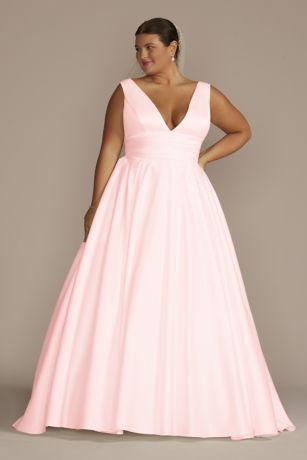 Long Ballgown Tank Dress - David's Bridal Collection
