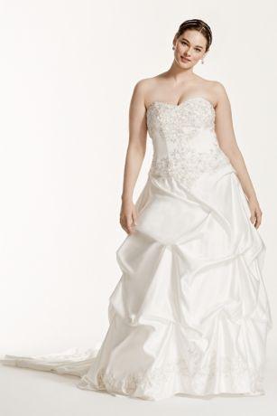 David's Bridal Pick Up Wedding Dress