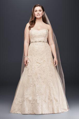 Champagne Colored Wedding Dress Corset