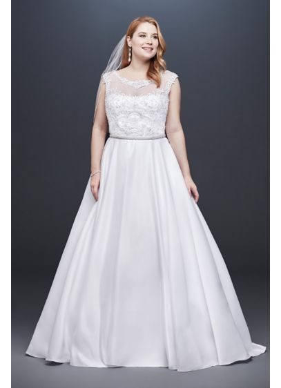 be725c9f62d Long Ballgown Formal Wedding Dress - David s Bridal Collection