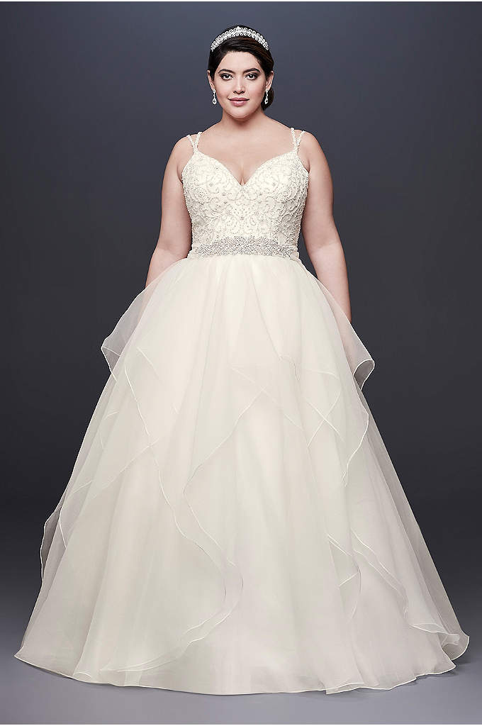 Wedding Dresses with Layered and Damatic Skirts | Davids Bridal