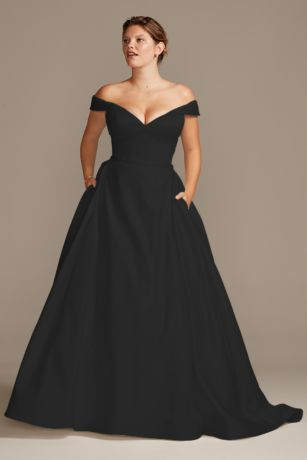 Black Wedding Dresses \u0026 Gowns: Plus
