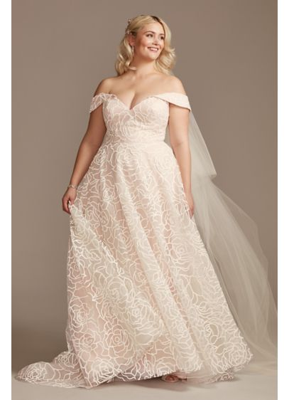 Long Ballgown Formal Wedding Dress - David's Bridal