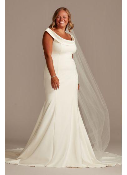 Long Mermaid/ Trumpet Formal Wedding Dress - David's Bridal