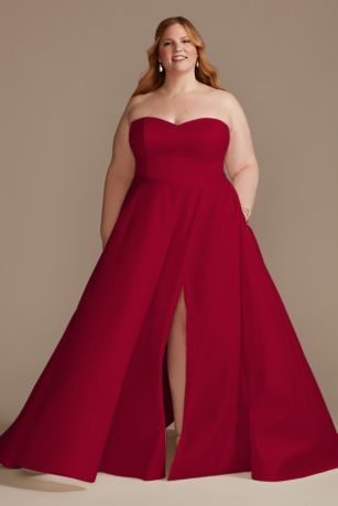 Long Ballgown Strapless Dress - DB Studio