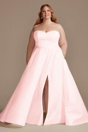 Long Ballgown Strapless Dress - DB Studio