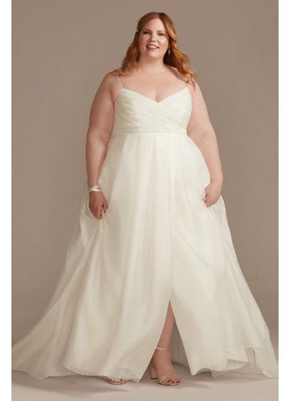 Long A-Line Formal Wedding Dress - DB Studio