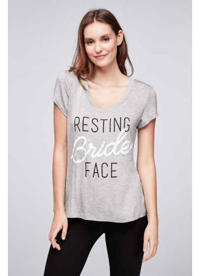 Resting Bride Face Tee - Wedding Gifts & Decorations