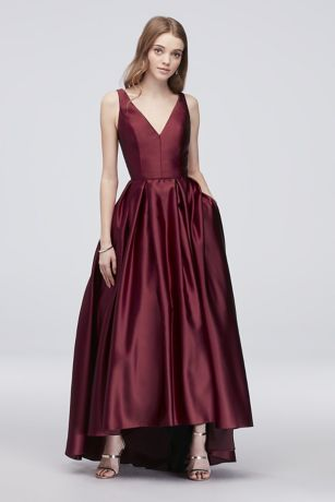 Long Ballgown Tank Dress - Betsy and Adam