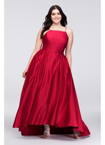 Long Ballgown Wedding Dress - Betsy and Adam