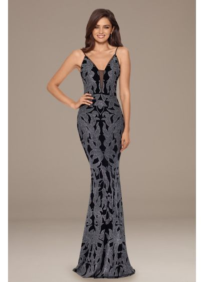 Long A-Line Spaghetti Strap Formal Dresses Dress - Betsy and Adam
