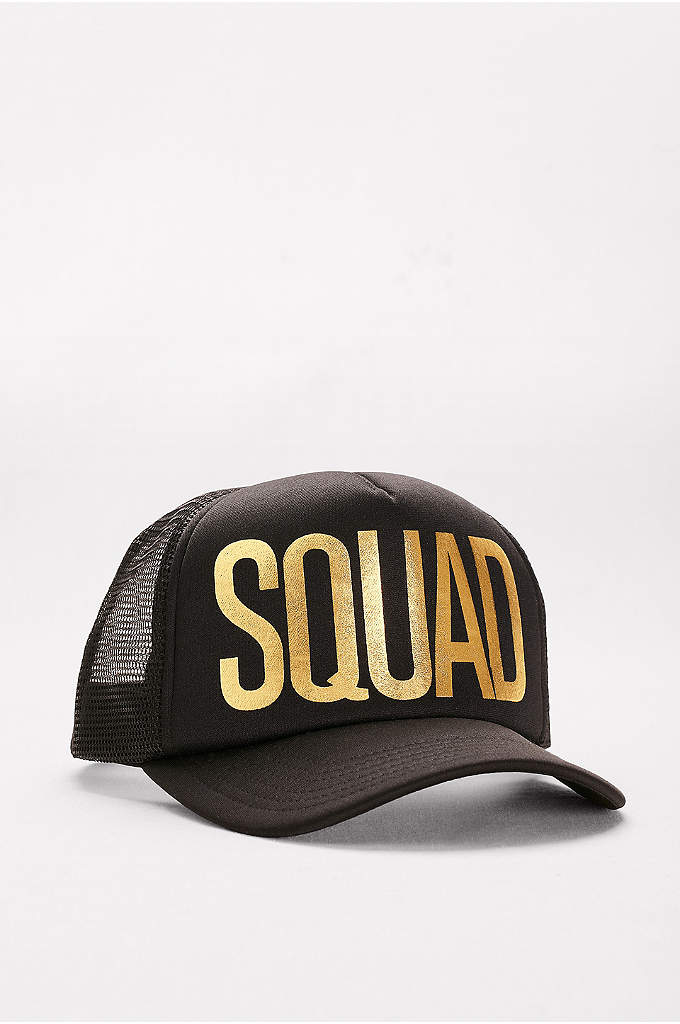 Squad Trucker Hat - Let this beach-ready squad trucker cap announce your