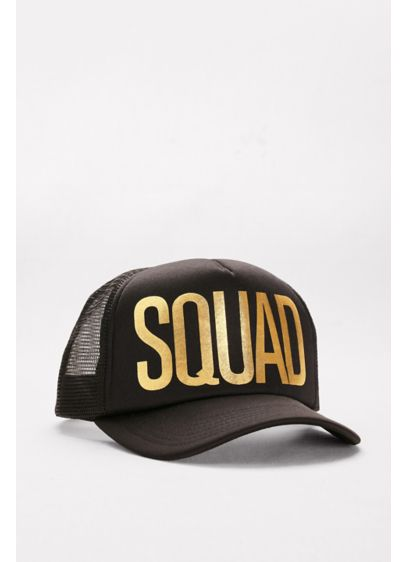 Black (Squad Trucker Hat)