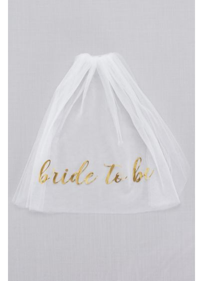 Bride To Be Veil - Make sure your bride-to-be bestie gets the attention