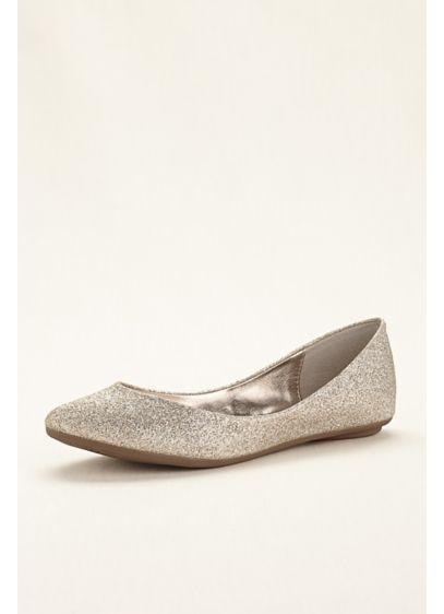 1dea270c7f5 Steve Madden Glitter Ballet Flat | David's Bridal