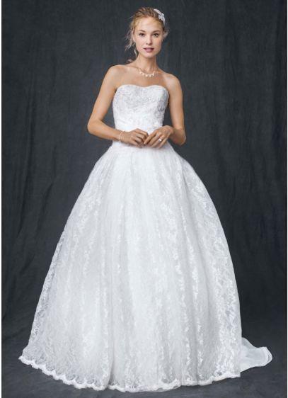 e61a2e82ae0 Strapless All Over Beaded Lace Ball Gown. AI10012280. Long Ballgown Wedding  Dress -