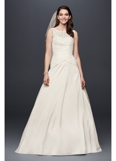 Long Ivory Soft & Flowy Bridesmaid Dress