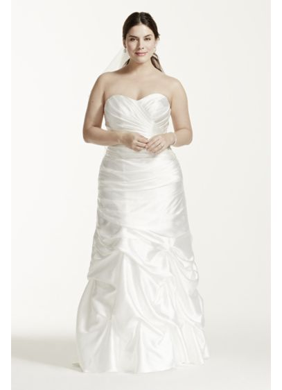 Long Mermaid/ Trumpet Casual Wedding Dress -