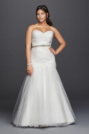 Plus Size Mermaid Wedding Dresses