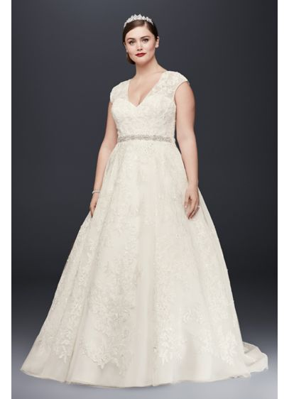 As-Is Plus Size Ball Gown Wedding Dress - When we say