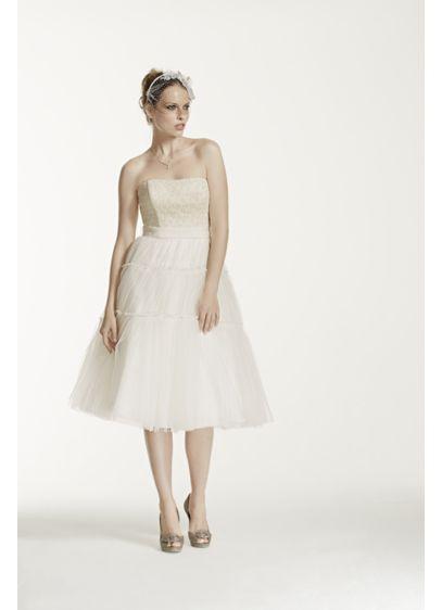 Short Ivory Soft & Flowy Bridesmaid Dress