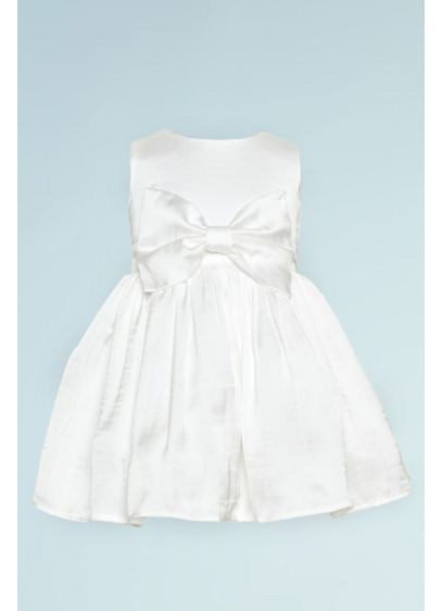 As Is Silky Tank Flower Girl Dress with - A perfect dress for flower girl duty, this