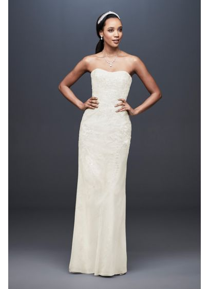 4d7252dcd9 As-Is Wedding Dress with Detachable Overskirt | David's Bridal