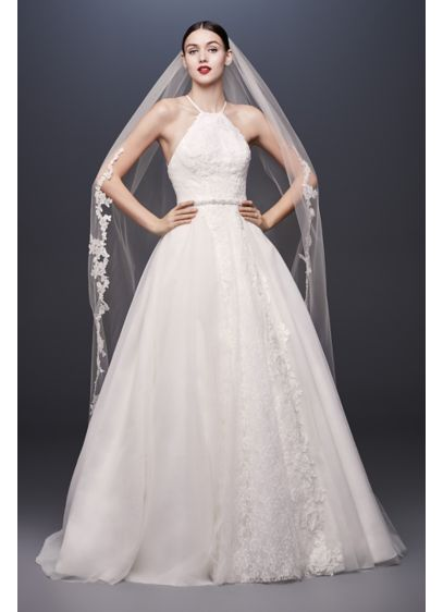 f40ff0513c5 As-Is Halter-Tie Tulle Ball Gown Wedding Dress