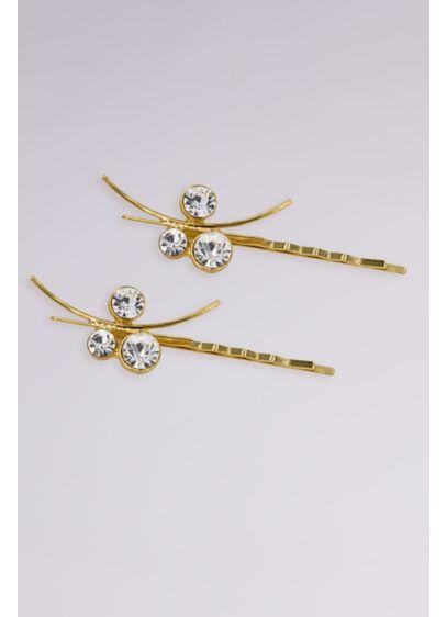 Swarovski Crystal Grecian Inspired Bobby Pin Set - Wedding Accessories