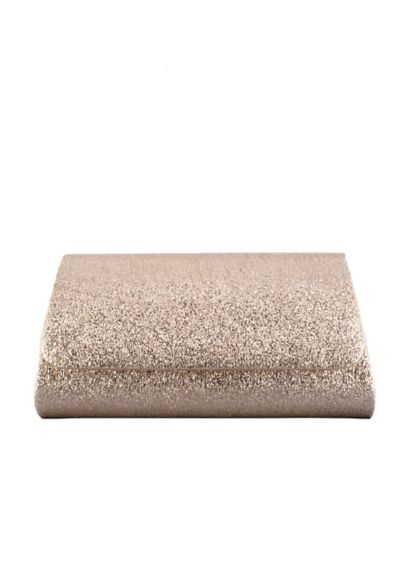 Shimmery Crinkle Foil Foldover Clutch - Wedding Accessories