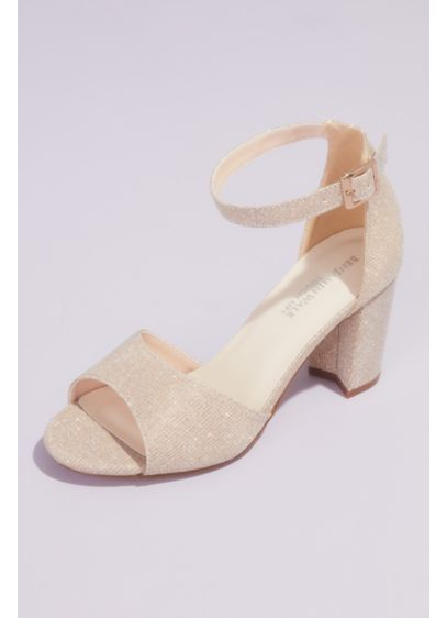 Chunky Block Heel Sandals with Ankle Strap - Meet your new favorite pair of special occasion