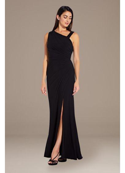 Long A-Line One Shoulder Formal Dresses Dress - Adrianna Papell