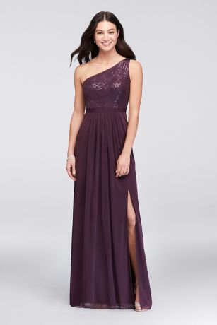 Plum And Eggplant Dresses Amp Gowns David S Bridal