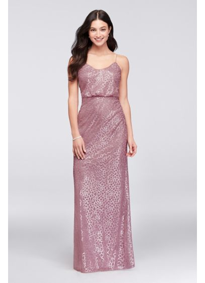 27d0cdf3 Bridesmaid Dress with Sequin Blouson | David's Bridal