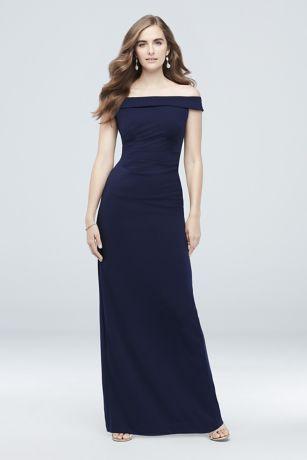 Soft & Flowy DB Studio Long Bridesmaid Dress