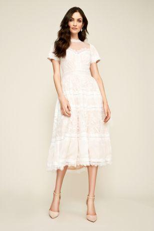 Tea Length Dresses Davids Bridal