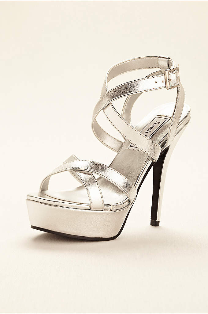 Andrea Strappy Platform Sandal by Touch Ups - A must-have for any special occasion or night