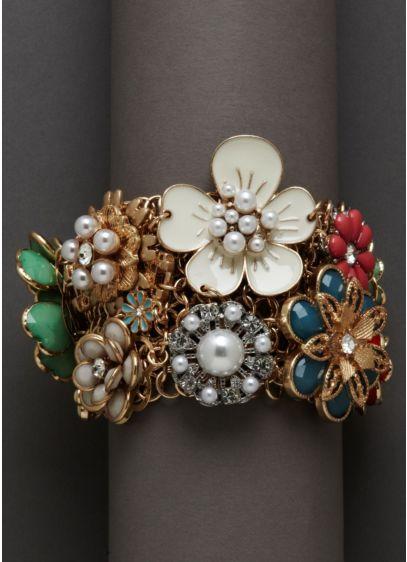 Floral Bouquet Bracelet - Wedding Accessories