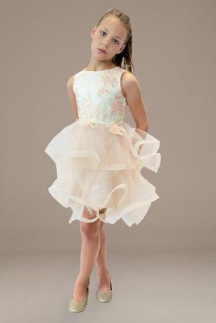 D-791-B Flower Girl DressVestidos para Nina