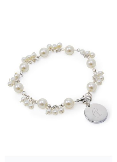 Personalized Romance Pearl Bracelet - Wedding Gifts & Decorations