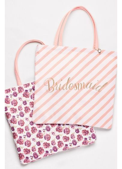 Reversible Bridesmaid Tote - Wedding Gifts & Decorations