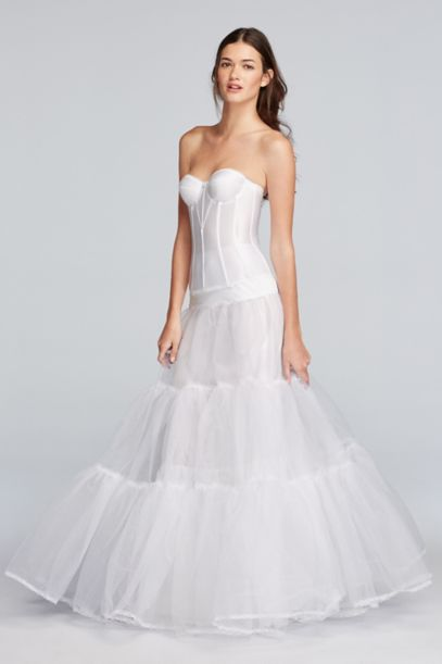 wedding dress slips gown silhouette slip david s bridal 9263