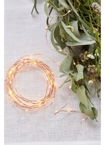 Rose Gold LED String Lights - Add a magical glow to your wedding venue