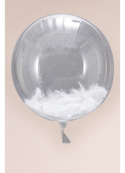 Feather Orb Balloon Set - Wedding Gifts & Decorations