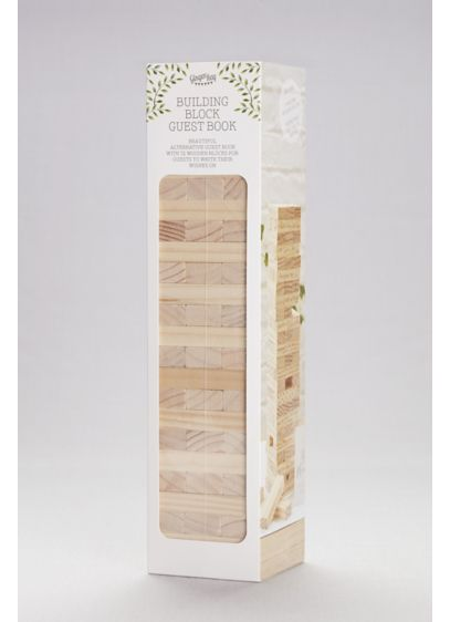 Building Blocks Guestbook - The wedding guest book has never been so