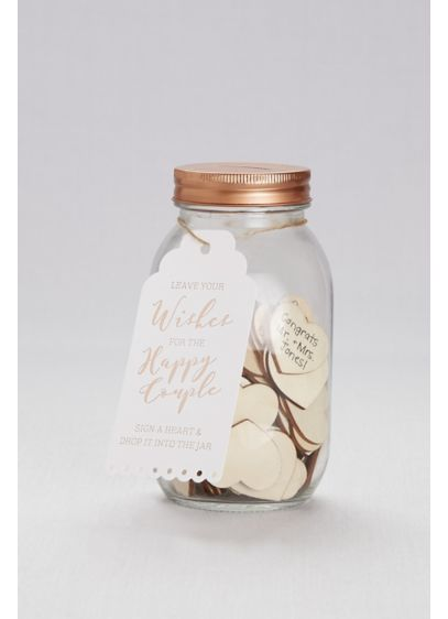 Wishing Jar Guestbook - Wedding Gifts & Decorations
