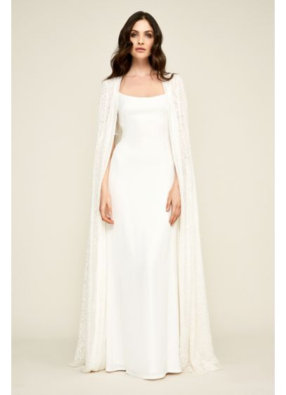 6a25f327d1 Renata Long Cape | David's Bridal