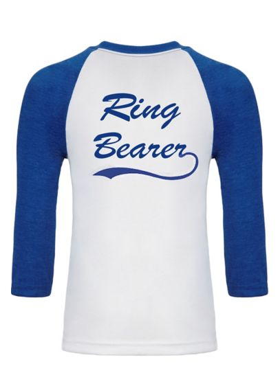 Blue (Sporty Ring Bearer T-Shirt)