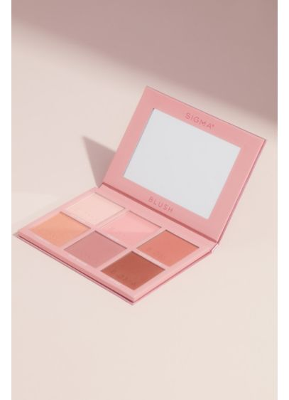 Sigma Beauty Blush Palette - This blush palette from Sigma Beauty has six